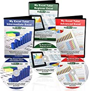 Learning Microsoft Excel Tutorial 2016-2019 Learn Excel Training Beginner Excel Course On DVD