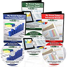 Microsoft Excel Tutorial 2016 Learn Microsoft Excel Fast Complete Excel Training Best Excel Course Includes Beginner Intermediate & Advance Excel Training On DVD | Expert Video Tutorials For Excel
