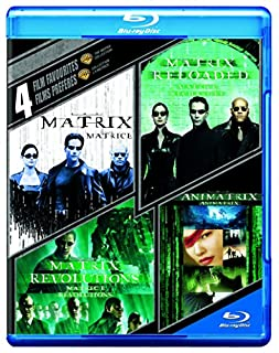 4 Film Favourites: The Matrix Collection (Bilingual) [Blu-ray] (B00WUI3KOI) | Amazon Products