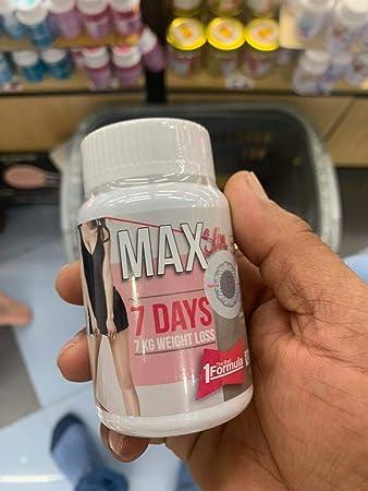 max slim 7 days 7 kg weight loss