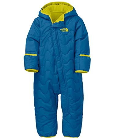 e0bed0ab3 Amazon.com  The North Face Baby Boys  Toasty Toes Bunting - snorkel ...