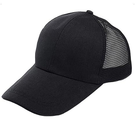 Leisial Gorra de Béisbol de Viajes Casquillo del Acoplamiento Casual Hats  Hip-Hop Sombrero Sol al Aire Libre Tenis Deporte Golf Verano para Hombre  Mujer 98d84b48ed3