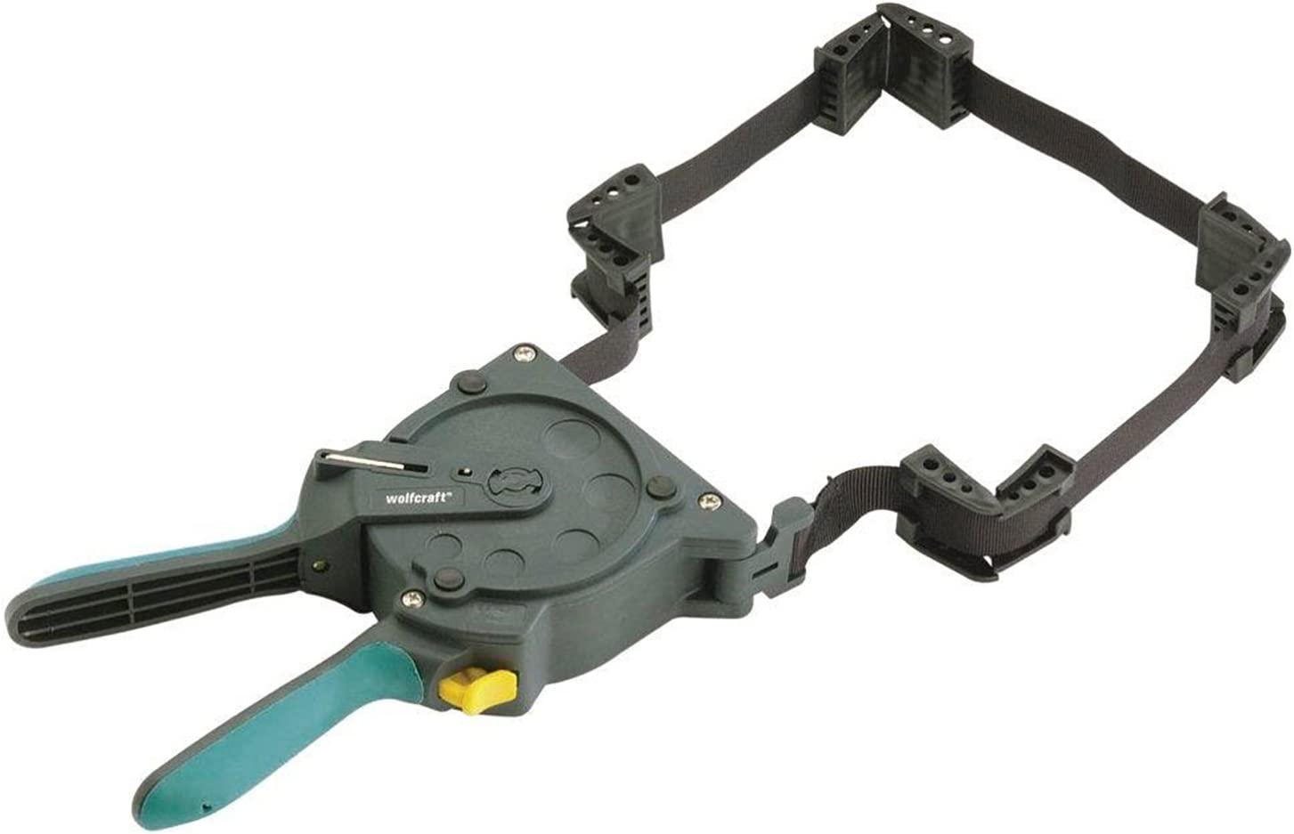 wolfcraft 3681404 One-Hand Ratcheting Band Clamp, 16