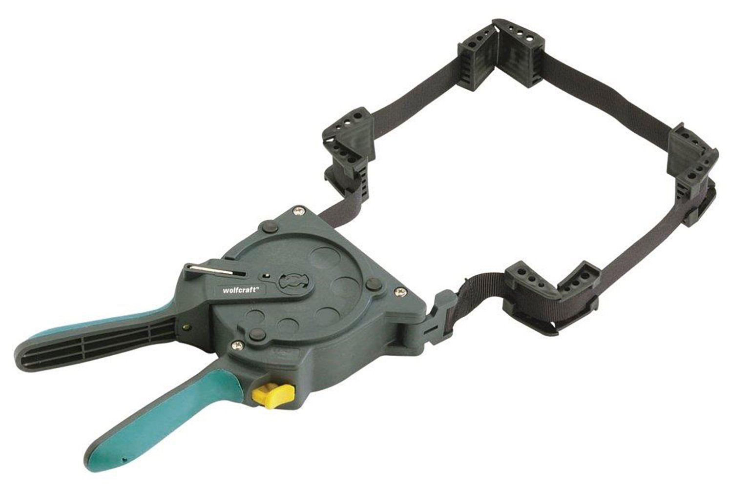 wolfcraft 3681404 One-Hand Ratcheting Band Clamp, 16in.