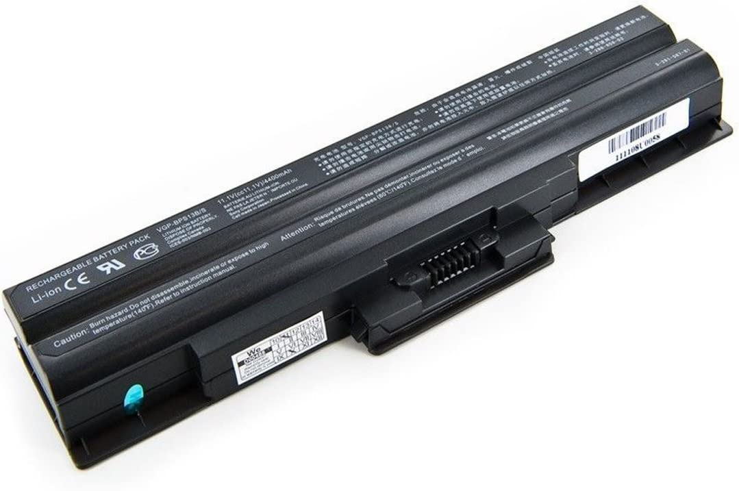 Powerforlaptop Laptop/Notebook Replace Battery for Sony Vaio VGN-NW125J VGN-NW228F/B VGN-NW240F/W VGN-NW270F/T VGN-NW280F/P VGN-SR129E VGN-SR250J/B VGN-SR290JTB VGN-SR390NAB VGN-SR520G/B VGN-SR525G