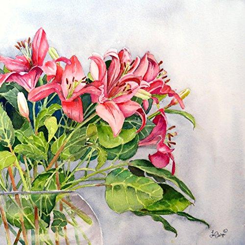 A Blush of Lilies by Nancy Muren