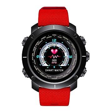 HIXGB Pulsera Actividad,Reloj Inteligente con Monitor De Frecuencia Cardíaca,Impermeable,Podómetro,