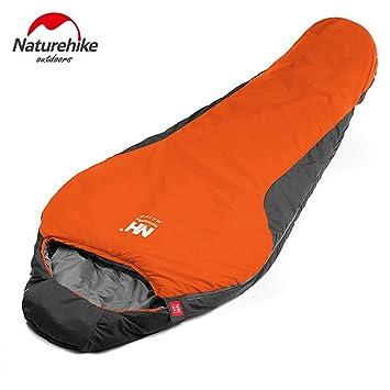 Natural Hike Momia Saco de Dormir Ultralight Acampada y Senderismo para Invierno Otoño nh15s013 de D: Amazon.es: Hogar
