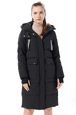 84c955cbd76a1 FLY HAWK Women's Quilted Snorkel Down Jacket Active Ski Snowboarding Jacket  Black US Size XS