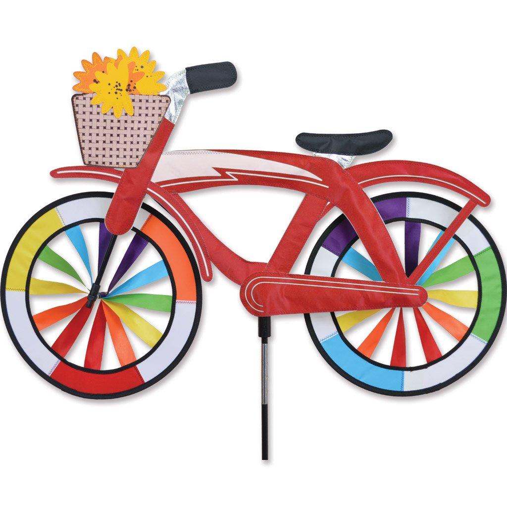 30 in. Bike Spinner - Red Classic Cruiser