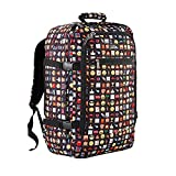Cabin Max Metz Backpack Flight Approved Carry on Bag 44 Liter - 21'' X 14'' X 9'' (Emoji)