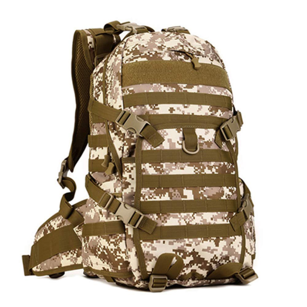 JIAN Taktischer Rucksack Outdoor Sports Rucksack Multifunktions-Wanderrucksack,C