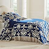 Brylanehome Holden Chenille Bedspread (Ivory,King)