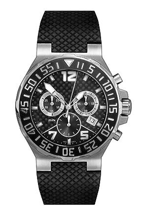 amazon com belair swiss made chronograph 20 atm men s black belair swiss made chronograph 20 atm men s black carbon fiber watch