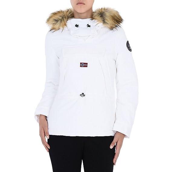 NAPAPIJRI chaqueta de las mujeres con capucha N0YGTZ002 SKIDOO WOM EF 1 BLANCO L Bianco: Amazon.es: Ropa y accesorios