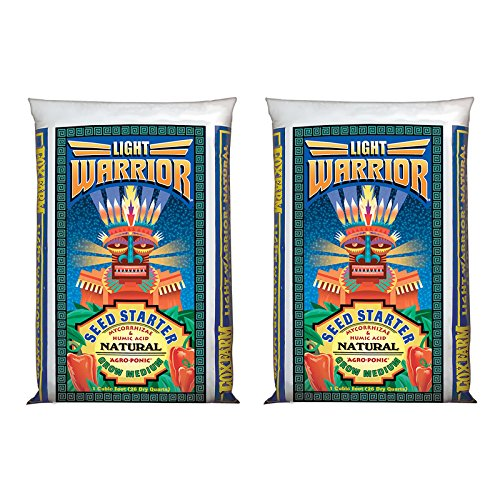 FoxFarm Light Warrior Soilless Seed Germinator Starter Mix, 26 Quarts (2 Pack) (Soilless Mix)