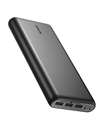 Anker PowerCore 26800 Portable Charger, 26800mAh External Battery with Dual Input Port and Double-Speed Recharging, 3 USB Ports for iPhone, iPad, ...