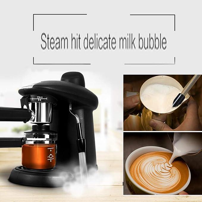 Máquina de café espresso, Cafetera hidropresión de 5 bares, 4 ...