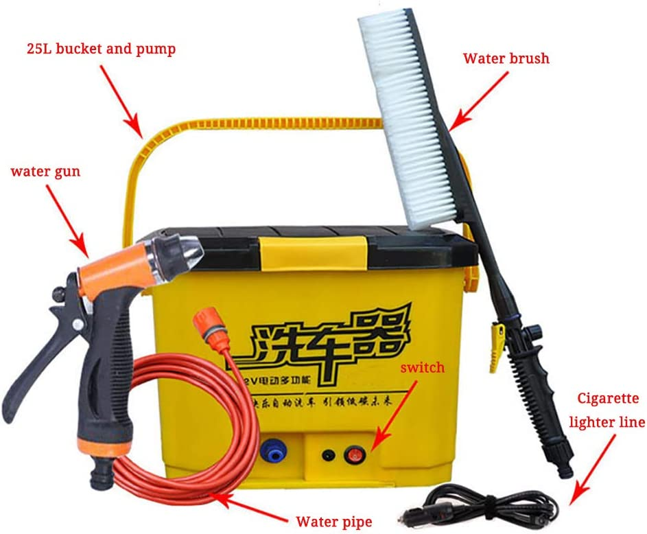 Portable Car Washer High Pressure Automatic Cleaning Machine Cordless Water Pump