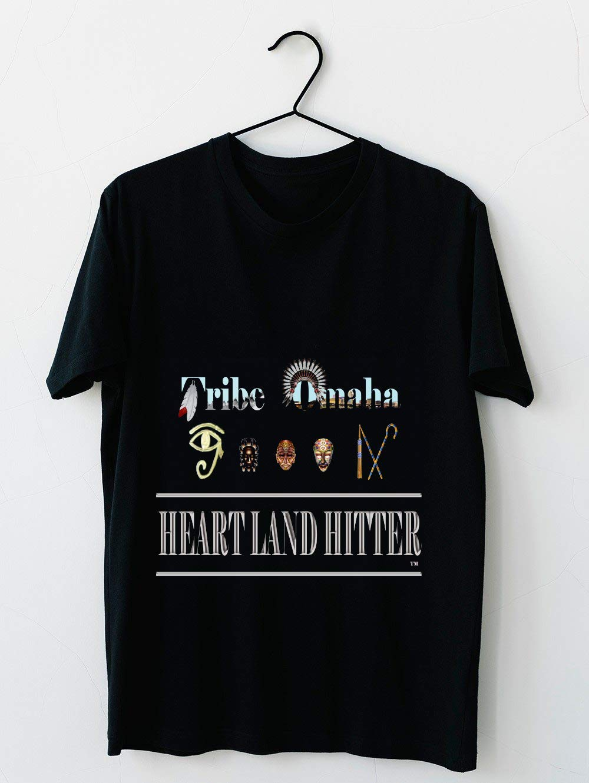 Tribe Omaha Heartland Hitter T Shirt For Unisex