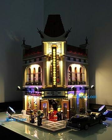 Palace Cinema Lighting Kit for set 10232 by Brick Loot & Amazon.com: Palace Cinema Lighting Kit for set 10232 by Brick Loot ... azcodes.com