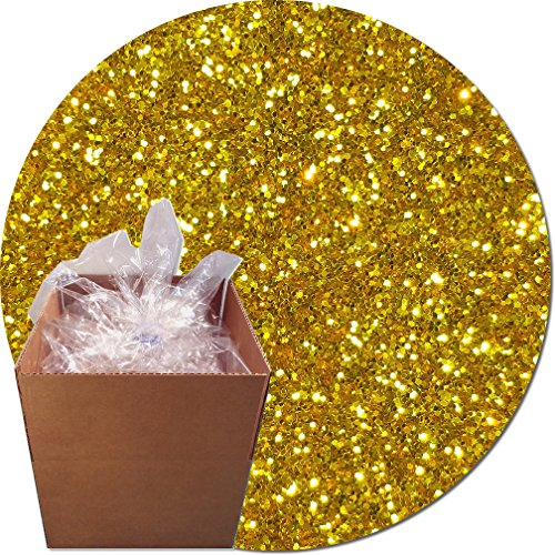 Glitter My World! Craft Glitter: 25lb Box: Gold Rush by Glitter My World!
