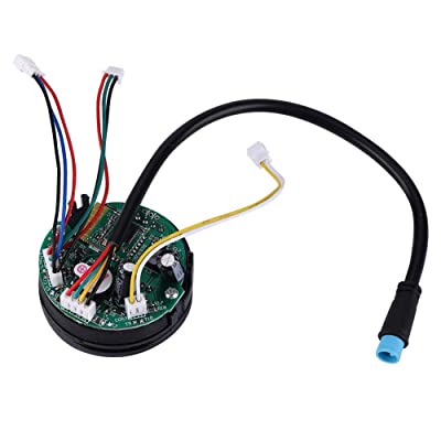 Tbest Scooter Circuit Board, Foldable Electric Scooter Circuit Board Dashboard with Cover for Ninebot ES1 ES2 ES4 : Sports & Outdoors