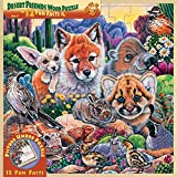MasterPueces Wood Fun Facts of Desert Friends - 48 Piece Kids Puzzle