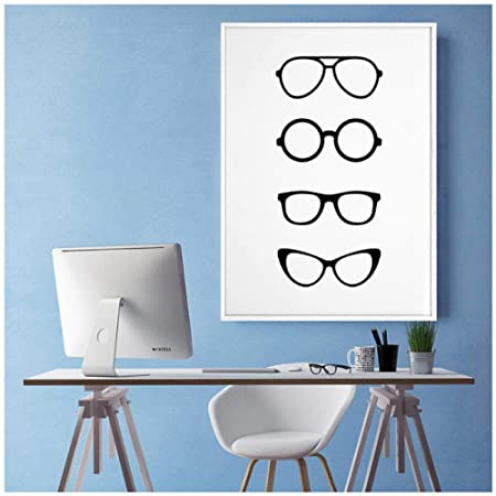 xwwnzdq Gafas Arte de la Pared Impresiones de la Lona ...