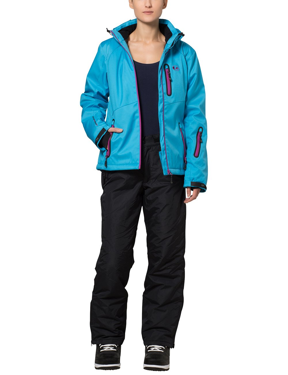 Ultrasport Arlberg Pantaloni da Snowboard//Sci Funzionali da Donna con Ultraflow 2.000