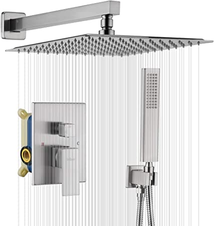 Embedded Box Wall Four Tubes Single Function Shower Embedded Valve Body Assembly