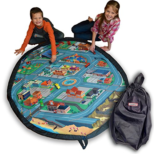 Funfield City Extra Large Drawstring Play Mat 5 Foot
