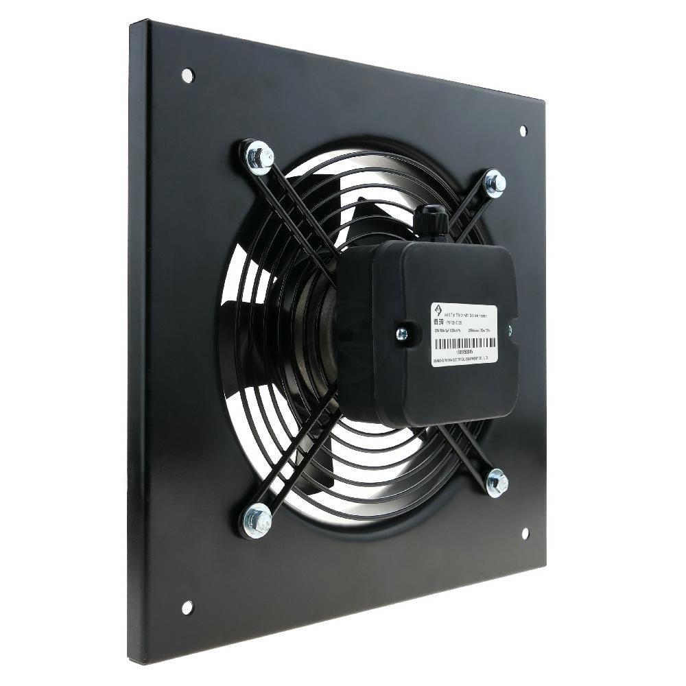 PrimeMatik - Extracteur d'air de Mur pour la Ventilation Industrielle de 300 mm 2550 RPM carré 430x430x64 mm PrimeMatik.com
