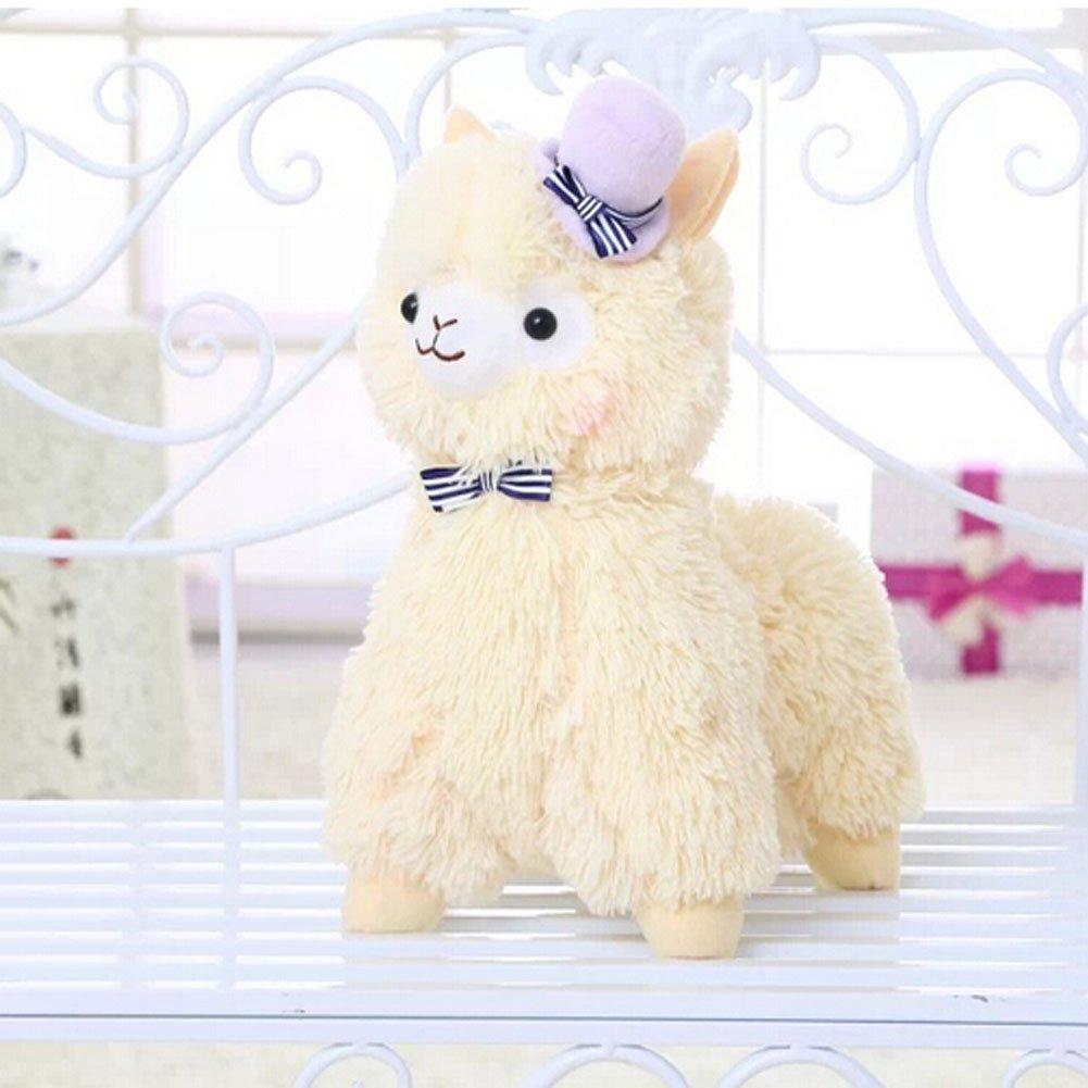 Botetrade Kawaii Liebe-Hut Alpaca Lama Pl¨¹sch 35cm Hoch Ltd