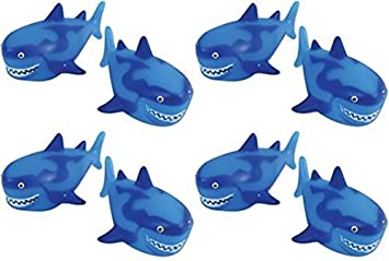 us-toy-shark-water-squirter-pool-beach-bath-toys---pack-of-12 by happy-deals