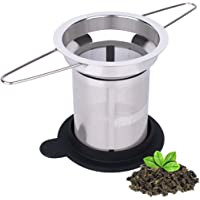 Home Appliance Parts Vacuum Cleaner Parts Humor Mesh Tea Infuser Stainless Steel Filter Extra Fine Mesh Fits Standard Cups Mugs Teapots For Brewing Steeping Loose Tea