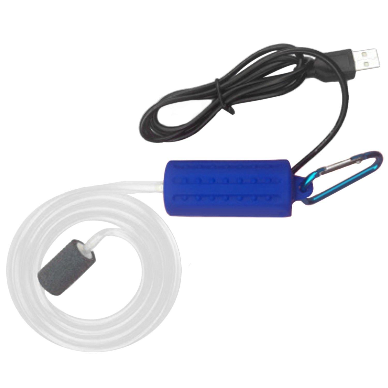 Beetest Portátil USB Mini Mute Acuario Bomba de Aire Suministros de Oxígeno Herramientas Tanque de Peces de Ahorro de Energía Accesorios Verde