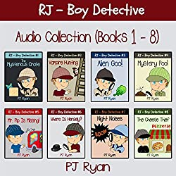RJ - Boy Detective Books 1-8: Fun Short Story Mysteries