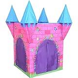 Charles Bentley - Tente de jeu château de princesse - enfant - intérieur/extérieur - rose
