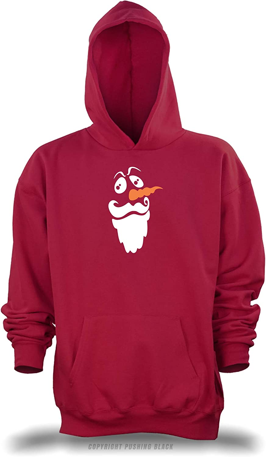 Bearded Snowman Unisex Pullover Hoodie