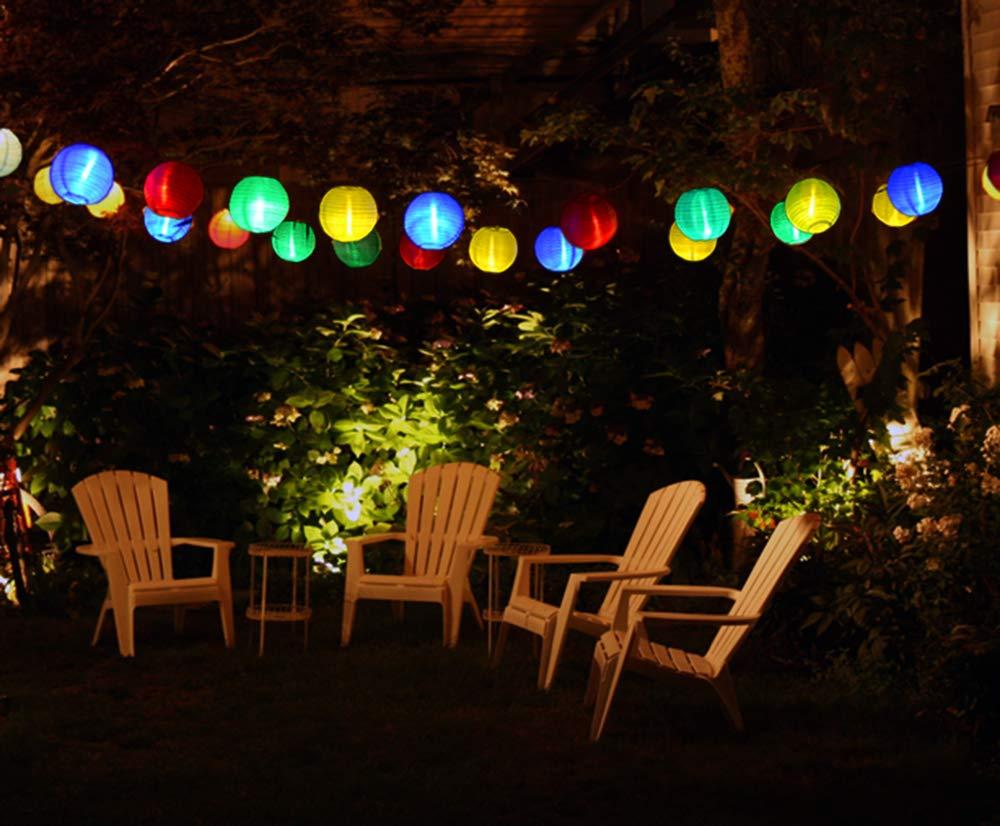 Illuminazione Esterna Lanterna : Lvyleaf solari catena luminosa lanterne 30 luci a fiaba a led con