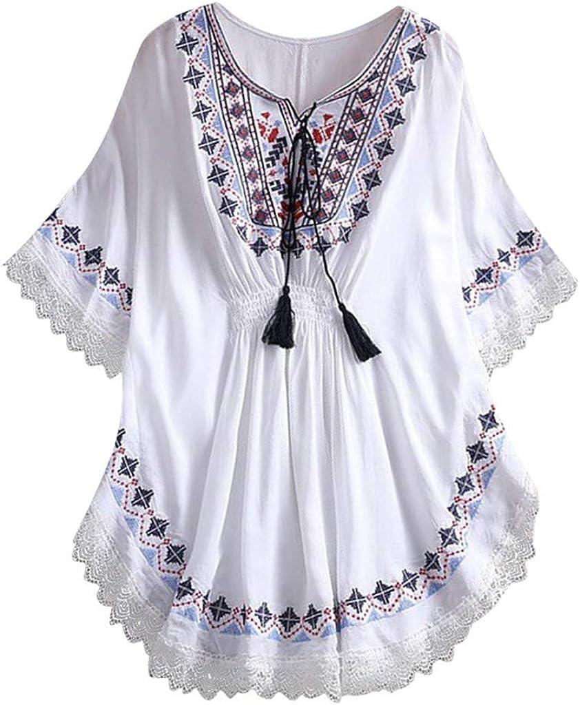Camisas Mujer Sexy De Talla Grande Mujer Verano Tops Mujer Primavera Camisetas Mujer Corta con Bolsillo Vestido Mini Camisa Tallas Grandes Blusas para Mujer Elegantes (Blanco, Tamaño Libre): Amazon.es: Ropa y accesorios