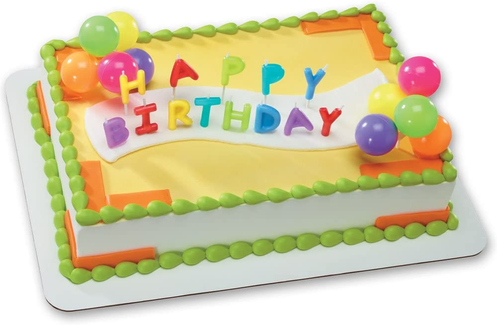 Groovy Amazon Com Happy Birthday Candles Neon Toys Games Birthday Cards Printable Giouspongecafe Filternl