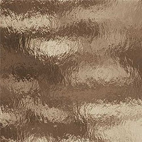 (Spectrum Bronze Cathedral Rough Rolled Stained Glass Sheet - 8