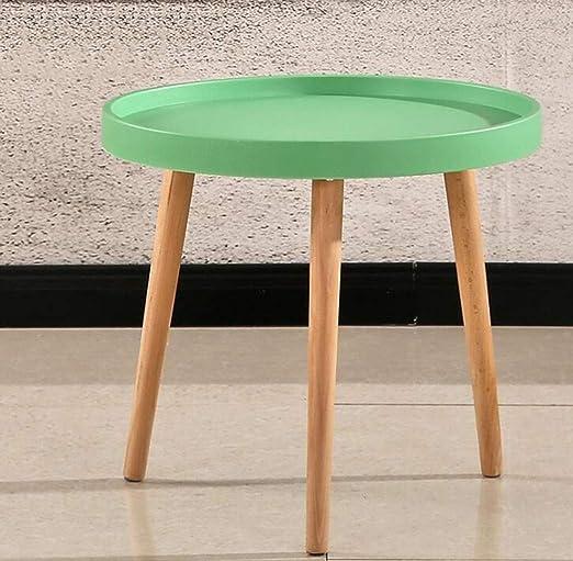 Mesa redonda pequeña mesa de café anidada decoración de muebles ...