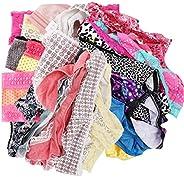 UWOCEKA Variety of Underwear Pack Women Bikinis Briefs Cotton Panties Assorted