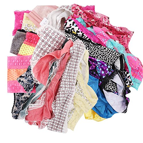 UWOCEKA Womens Underwear,Varity of Panties Pack Boyshorts Briefs