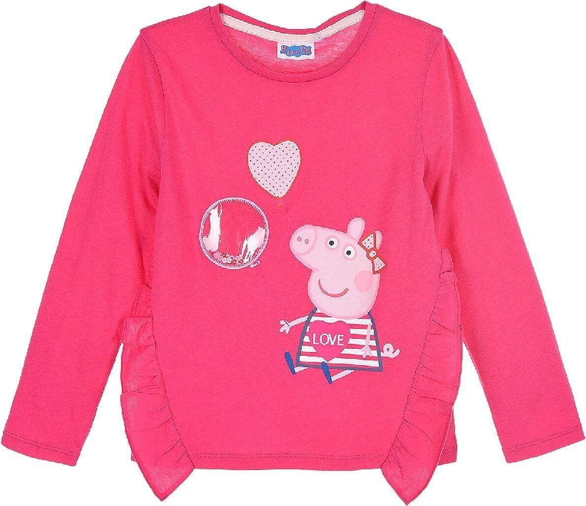 Maglietta a maniche lunghe Love Sun City Peppa Pig