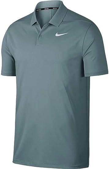 e1695e65d0f3d Nike Dri Fit Victory Solid LC Golf Polo 2019 Aviator Gray/White Small