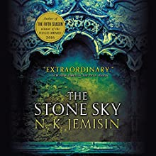 The Stone Sky Audiobook by N. K. Jemisin Narrated by Robin Miles